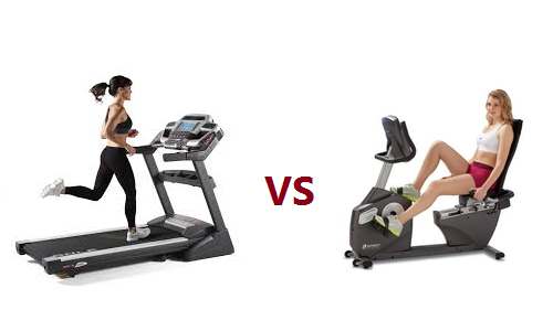 A showdown of Recumbent Exercise Bikes vs. Treadmills