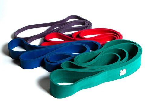How are resistance bands made